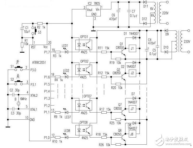 显示驱动电路,不但节约了硬件成本,也简化了电路,提高了系统的稳定性