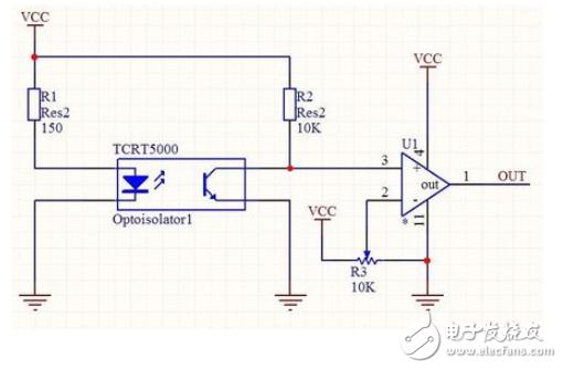 槽型光电开关比较安全可靠,适合检测高速变化,分辨透明与半透明物体