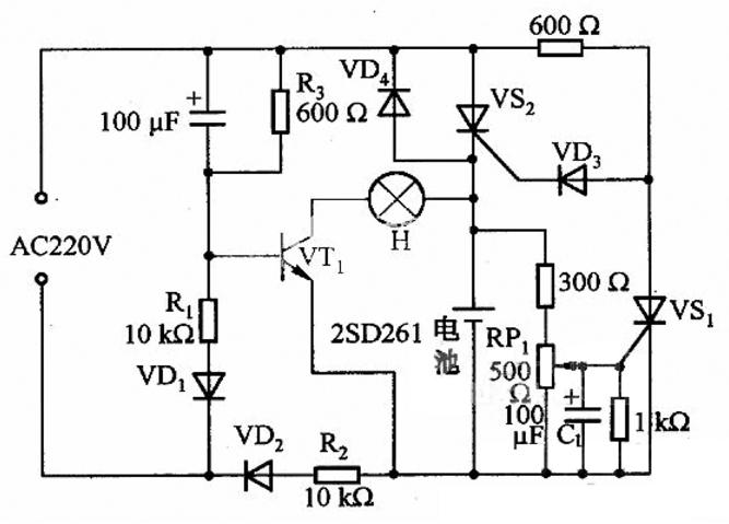 停电报警器电路设计方案汇总(五款模拟电路设计原理图详解)